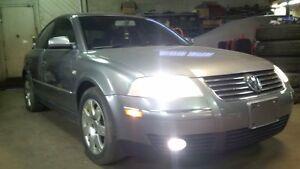 2003 Volkswagen Passat GLX 4Motion certified