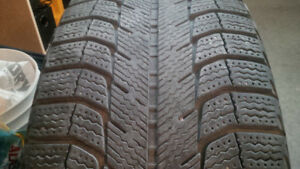 1 Quality Winter Tire 215/55 R 16 on 16 inch Steel Rim, Like New