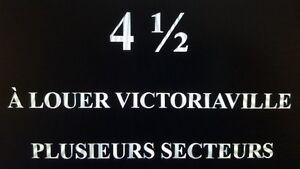 4 1/2 à louer Victoriaville