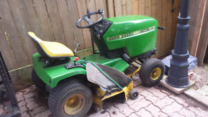 Riding Lawn mower and Accessories