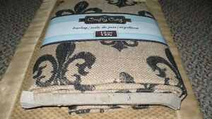 BRAND NEW NEVER USED 1.5 YRDS CRAFTY CUTS FLEUR DE LIS Kitchener / Waterloo Kitchener Area image 2