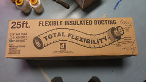 Dundas Jafine 6 inch by 25 foot flexible insulated ducting NIB Kingston Kingston Area image 2