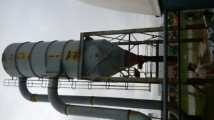 100 HP Dust collector - complete system