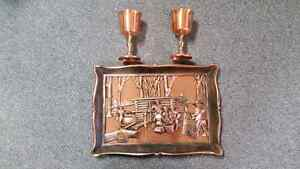 COPPER Goblets and Picture
