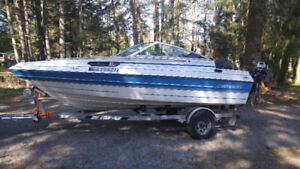 18.6 Ft.  Outboard with Cuddy