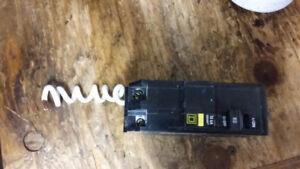 Disjoncteur Braker Square D GFCI 60 A