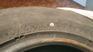 Pneus d'hiver! Winter tires! P185 65R14