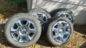 2014 Ford F150 Rims and Tires p275/55r20