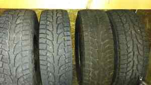 Hankook I pike snow tires and rims