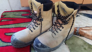 Two Workload CSA Approved,  steel toe,  size 9 boots $25 obo