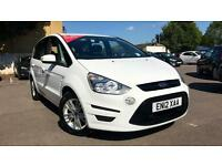 2012 Ford S-MAX 2.0 TDCi 140 Zetec 5dr Powersh Automatic Diesel Estate