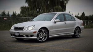 2003 Mercedes-Benz C-Class 3.2L AMG Sport Sedan