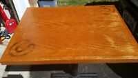 OAK SOLID TABLE TOPS
