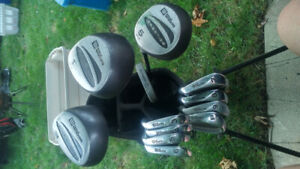 Left handed Wilson golf clubs for sale