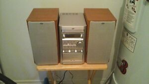 radio, cd and cassette  player