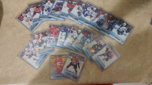 Tons of upper deck young guns rookie cards