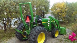 john deere 790 tractor