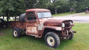 Willys jeep Truck project