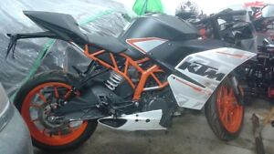 2015 KTM 390 RC for parts only - ppu