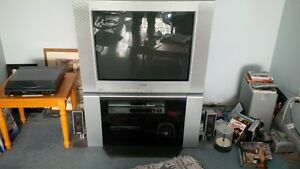 "Sony 32"" TV and stand"