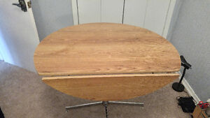 Retro folding table and four chairs Peterborough Peterborough Area image 2