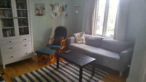 550$ all inclusive furnished room next to Monk (South West)