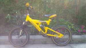Cool Yellow BMX Bike