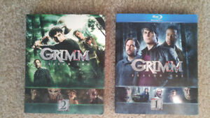 Grimm Season 1 and 2 Blu Ray New
