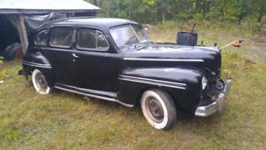 1948 mercury 4 door sedan