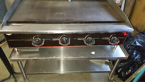 4 Burner Commercial Gas Griddle