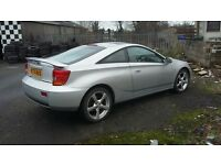 Toyota Celica spares or repairs 2000 project