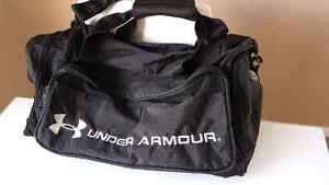 Large black Under Armour duffel bag