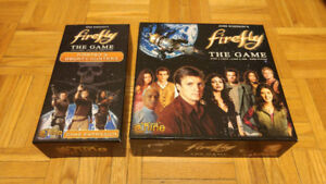 Firefly Board Game + Pirates & Bounty Hunters Expansion