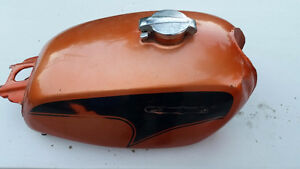 1971 Honda CL450K4 SCRAMBLER Tank Candy Topaz Orange