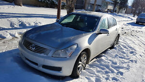 2007 Infiniti G35x, Newer Shape! AWD, Loaded, Leather, Htd Seats