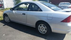 2001 Honda Civic,LOW KM..5-Speed