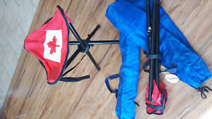 Camping Stool or Chair for 3.99