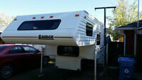 8'6'' truck camper REDUCED PRICE