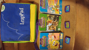 BACKPACK by Leap Frog LeapPad Learning.  GAMES HAVE BEEN SOLD