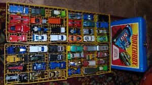 LOT 2 - 48 CARS mixed with VINTAGE HOT WHEEL CASE