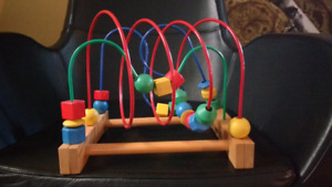Ikea wooden baby toy