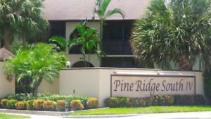 UPDATED 2 BED 2 BATH CONDO LAKE WORTH FLORIDA 55 + NO PETS