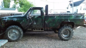 1980 k30 Chevy 454 mud truck