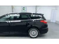 BLACK FORD FOCUS 1.6 ZETEC S TDCI 5D 113 BHP DIESEL *BUY TODAY FROM £34 P/MONTH*