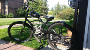 Classic Easy Rider Gas Powered Bicycle