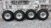 ITP Mud Lite Tires on Can Am Wheels