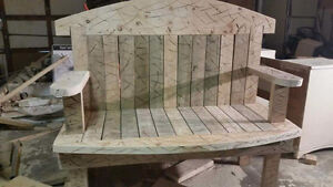 Made to order furniture.