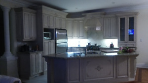 Kitchen Cabinet Installation,  Refacing Services & Renovations