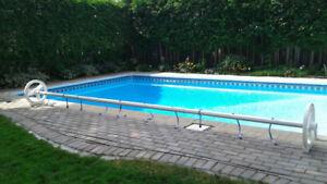 Pool Reel for Solar Blanket