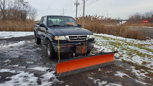 2003 Mazda B4000 Truck with Plow